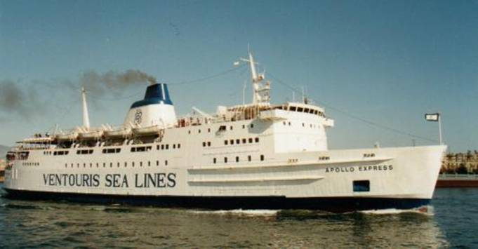 VENTOURIS SEA LINES FB Apollo Express 01_Pieter Inpijn