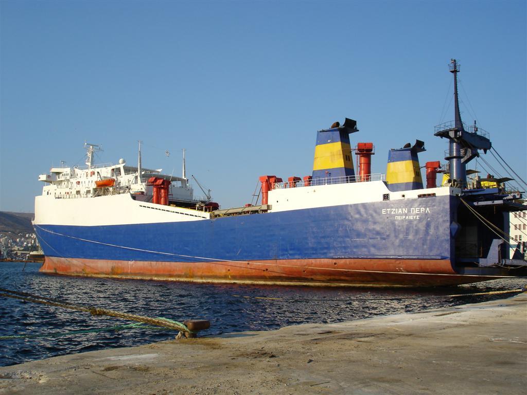 Ro/Ro Aegean Pearl - Piraeus